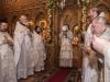 Момент праздничного богослужения